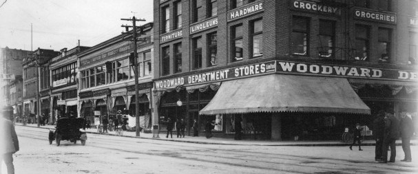 Woodwards Department Store in the 1900's - Image Credit: Vancouver Archives